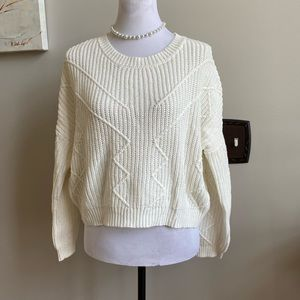NWOT ambiance apparel sweater small cream color